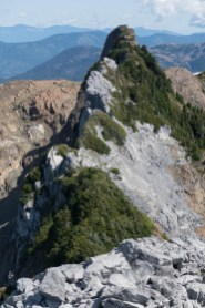 The Prow on the north end of the summit ridge