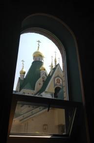Holy Trinity Monastery - Jordanville, NY Church #1 From the Baptistry