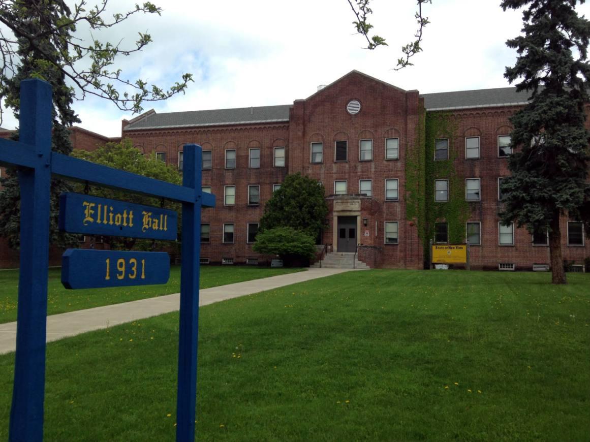 Elliott Hall facade, Established 1931