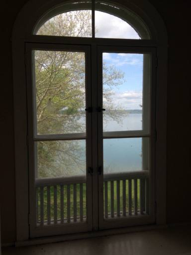 View of Seneca Lake from within the Brookside Building