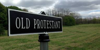 Old Protestant Section of the Willard Cemetery