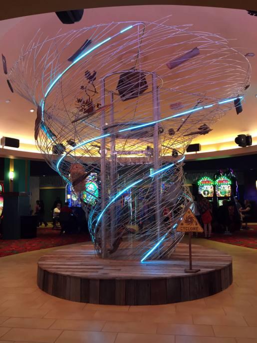 The Cyclone in the Yellow Brick Road Casino
