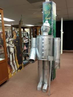 All Things Oz Museum Tinman Statue in Chittenango