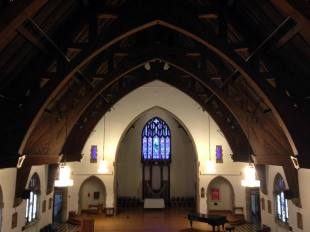 The Linehan Chapel at Nazareth College in Rochester