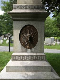 General Custer's Grave Site at West Point Military Academy in New York