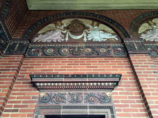 St. Luke's Mission portico in Buffalo, New York