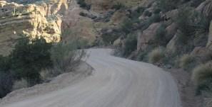 The dirt road after Tortilla Flats