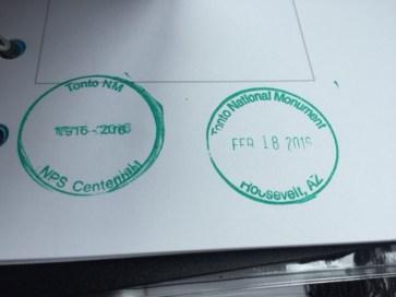 Centennial & Monument Stamp