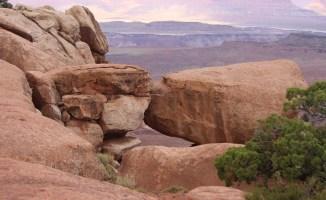 Two Rocks Kissing