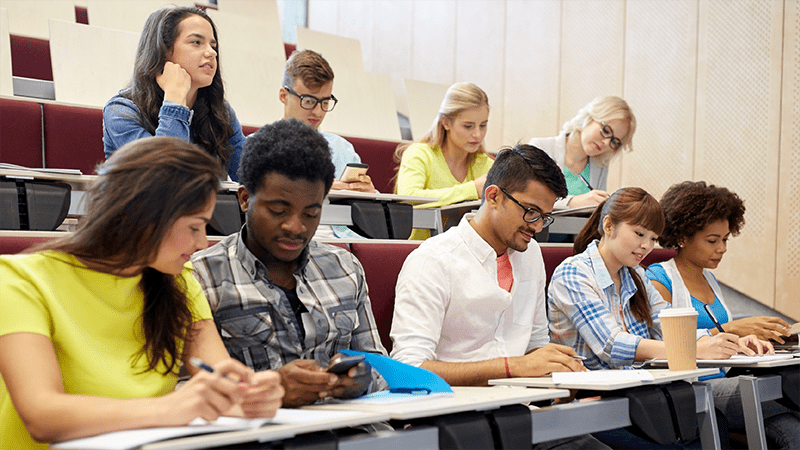 Image: Students in Class