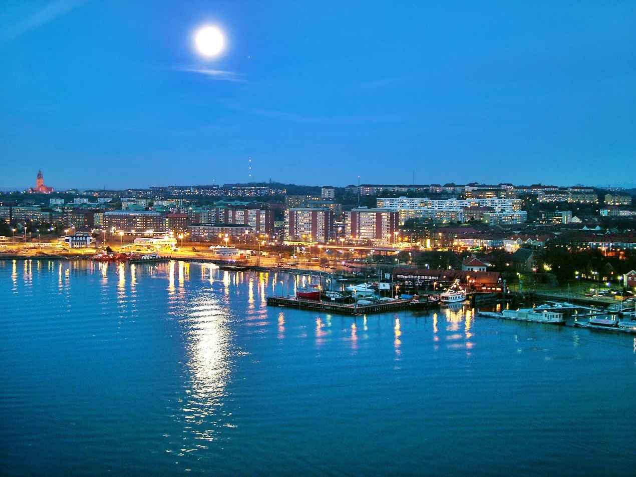 Göteborg_in_moon_light