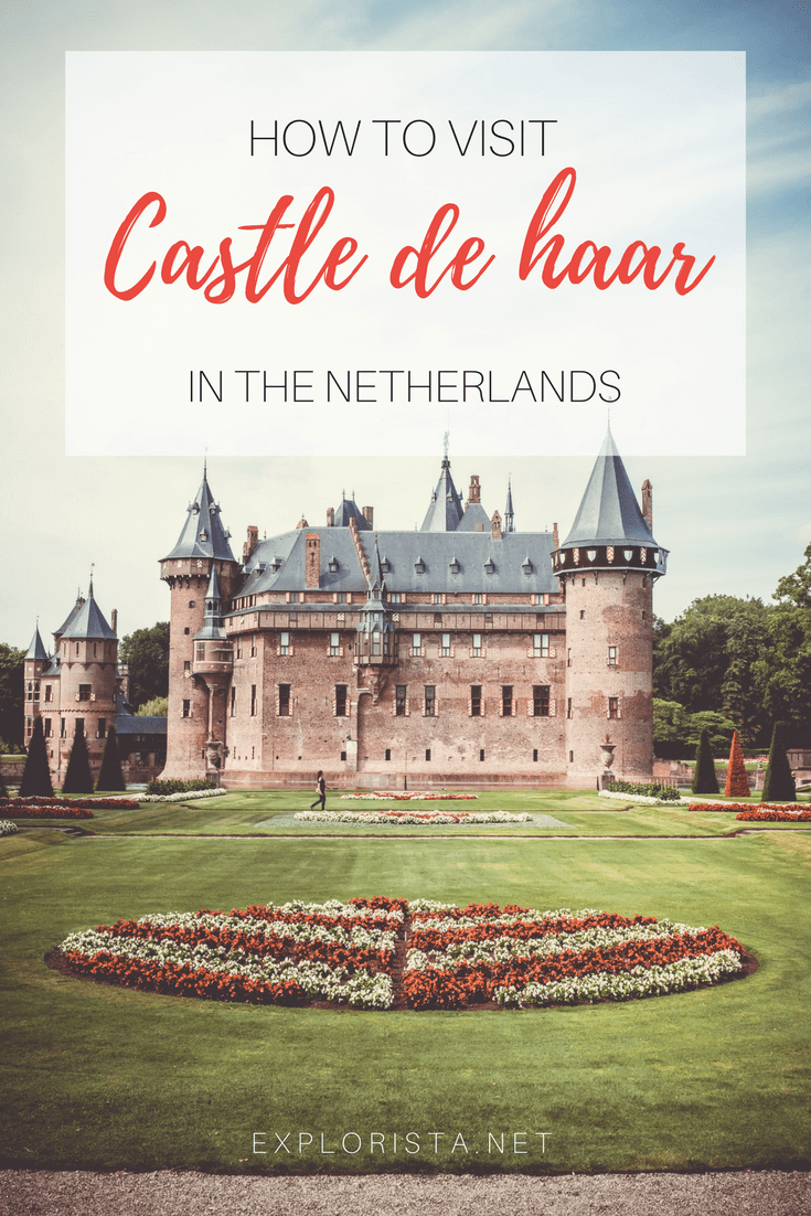 Castle De Haar is the biggest and most beautiful castle in the Netherlands.