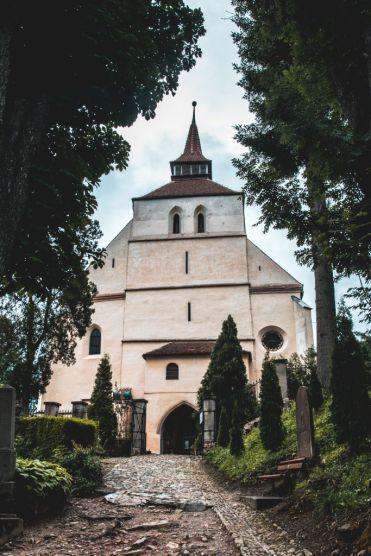 Sighisoara-church-on-hill-2