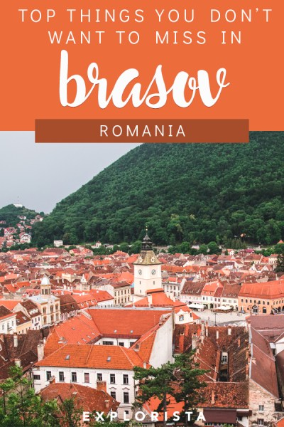 Nestled between Bran Castle and Peles Castle, Brasov is a great place to base yourself in Romania. The city itself is also quite charming, so here are 11 things you must do and see! #brasov #romania #thingstodinbrasov