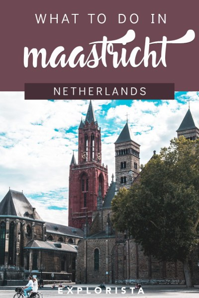 Wondering what to do in Maastricht? Here's a full travel guide of things to do, where to stay, and more! #maastricht #netherlands #europe