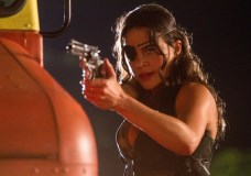 Michelle Rodriguez Looking Tough