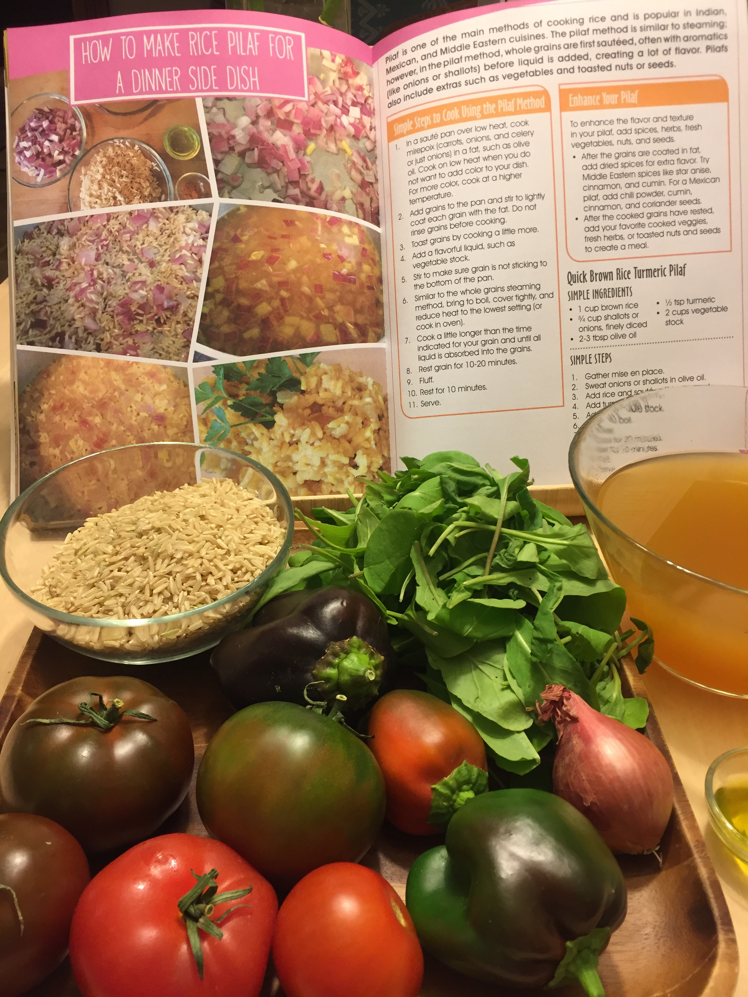 A New View Of Healthy Eating: Simple Steps To Make An Incredible Rice Pilaf  €�
