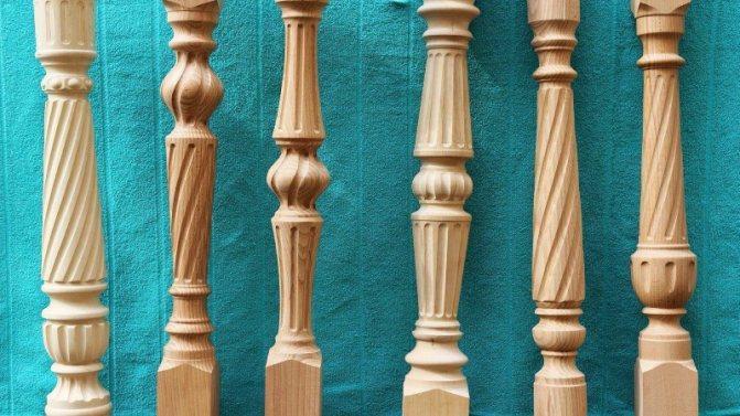 階段のための木彫りバラシンの生産