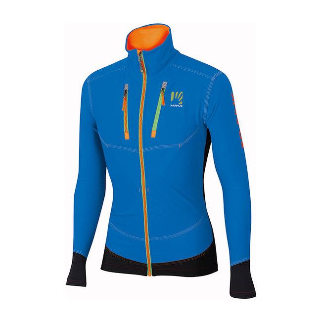 La giacca da sci alpinismo Alagna di Karpos, calda ed elastica