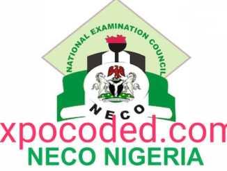 2021 NECO Foods & Nutrition runs