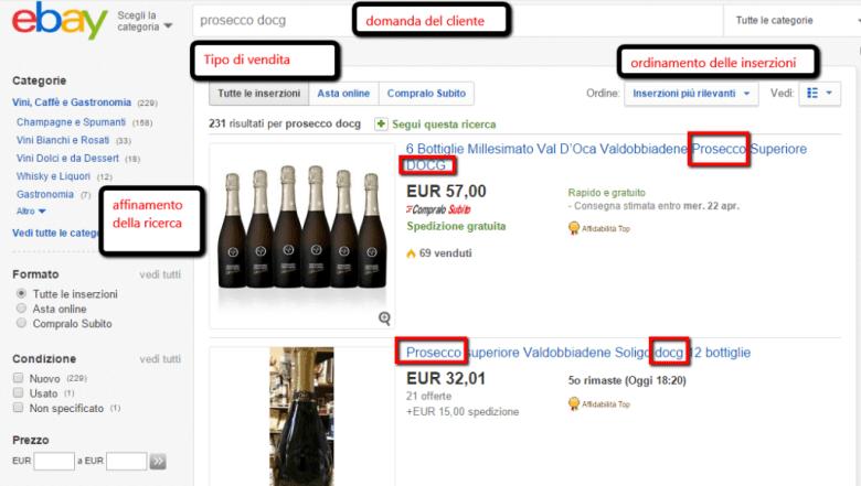Come vendere su eBay. Usate tutti i caratteri a disposizione nel titolo e almeno due foto.