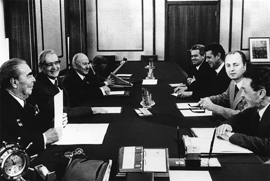 Berlinguer e Breznev