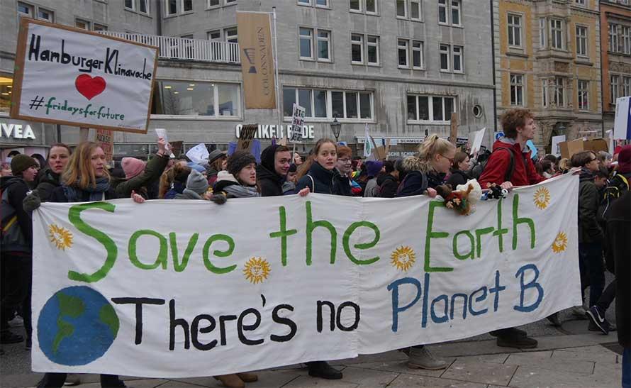 Manifestazioni per il clima
