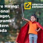 POSITION FILLED: Regional Manager, Programs - Western Canada