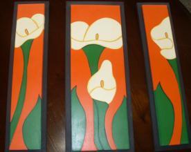 Cuadros en madera. Rafana artesanía.