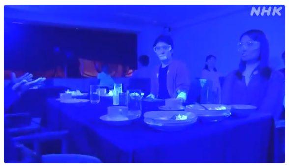 Un experimento realizado durante una comida en Japón muestra lo rápido que se puede propagar el coronavirus (VIDEO)