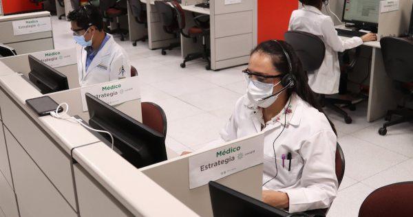 ¿Diga? ¿Cuáles son sus síntomas? La CdMx gestiona la pandemia con ayuda de tecnología y telemedicina