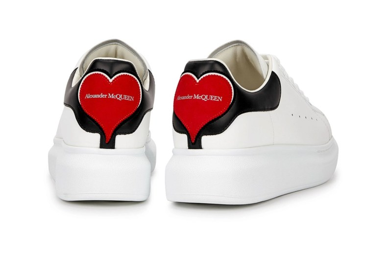 Alexander McQueen glitzy running shoes