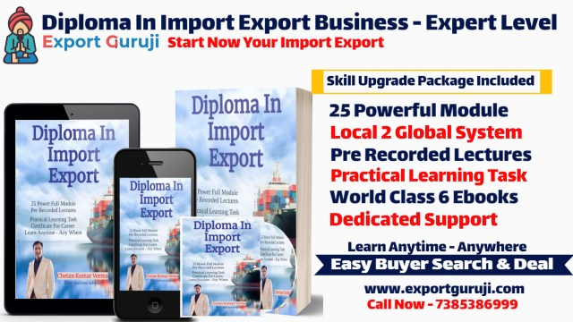 Advance Mastery In Export Import Business Training Online Practical Class