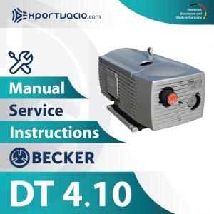 Becker DT 4.10 Manual