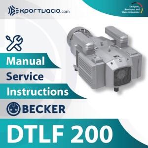 Becker DTLF 200 Manual