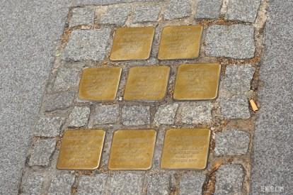 Familie Spielmann in der Annenstraße