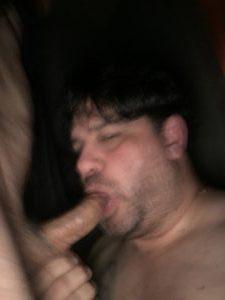cockslut christopher marc sucking cock