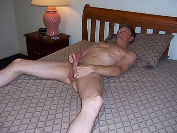 David Steckel displayed naked and masturbating