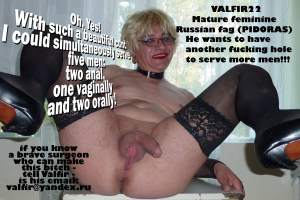 23014910300_c1e7793289_o (Russian Sissy Fag (Pidoras) Valery like dirty caption from Buddy, fan and admirers)