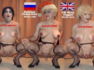 Three HOT Sissies