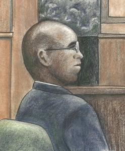 Courtroom sketch by Debra Van Poolen (http://www.debvanpoolen.com/)