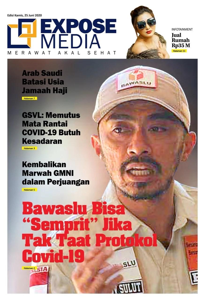 Edisi Kamis, 25 Juni 2020