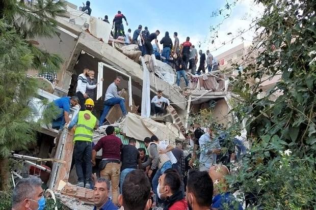 Gempa Disertai Tsunami Landa Turki dan Yunani, Puluhan Orang Tewas