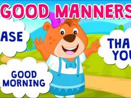 children manners apps