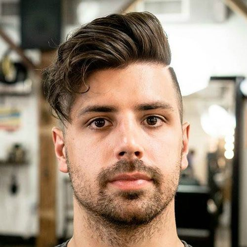 round face hairstyles men