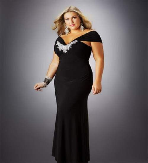 gown dresses for fat women