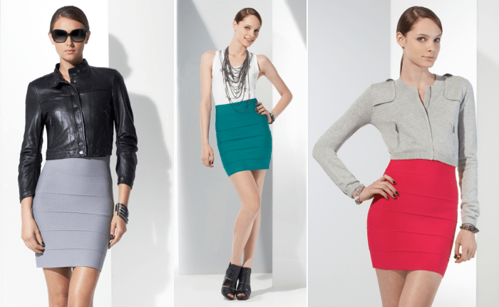 bodycon skirts outfits