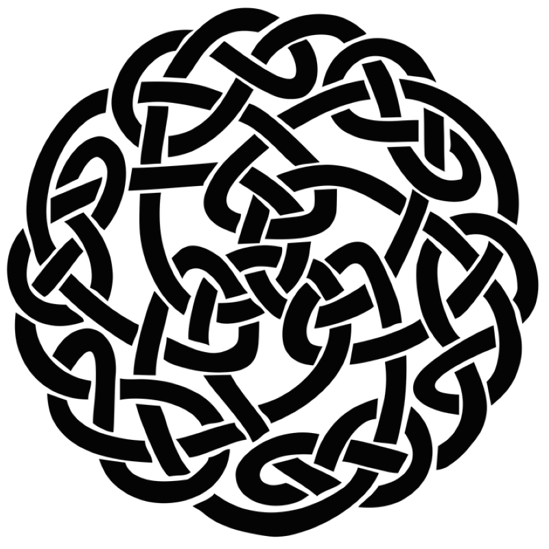 celtic family knots