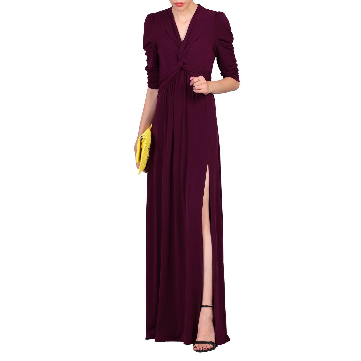 long dresses with slits on the side