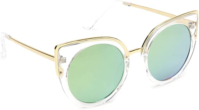 designer mirrored sunglasses